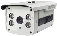 Free Shipping Sony CCD 800TVL 2Array LED Bullet CCTV Cameras Metal Housing Vandal Proof Weather Proof