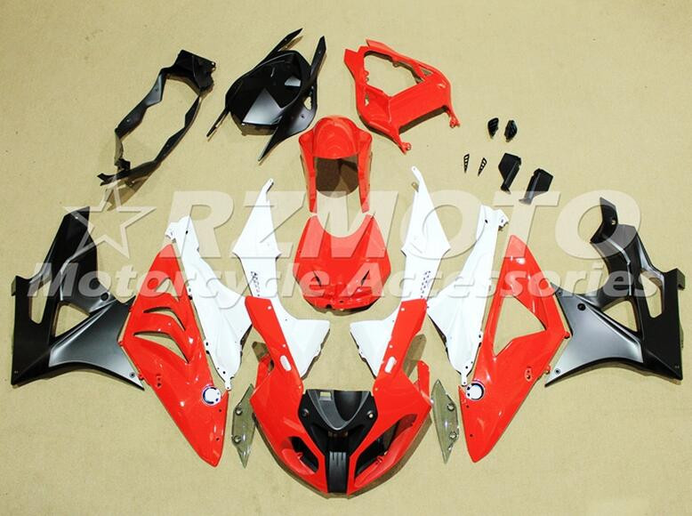 New ABS Fairings For BMW S1000RR 09 12 13 14 1000RR 2009 - 2014 Injection Motorcycle Fairing Kit Bodywork set Red White black image