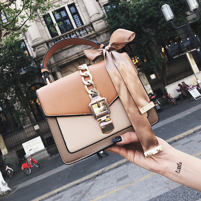 Women's Bag Fashion Messenger Bag for Women Mini Square Bag Shoulder Messenger Bag Clutch Female Designer Wallet Handbag(China)