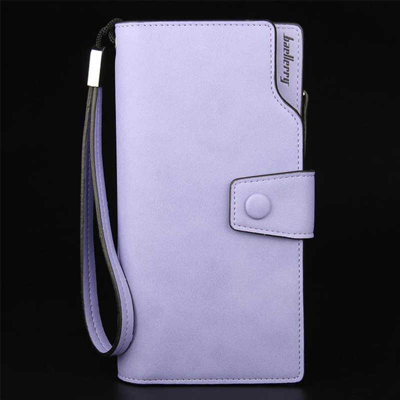 Carteira Senhora das mulheres Zipper Fechamento Hasp bolsa Bolsa Estilo Longo das mulheres Grande Capacidade de Moda Bolsa Saco de Dinheiro Mais slots de cartão