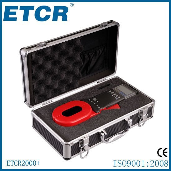 Top quality!~New ETCR2000+ Clamp On  Ground Earth Resistance Tester Meter 0.01-1200ohm new dji top
