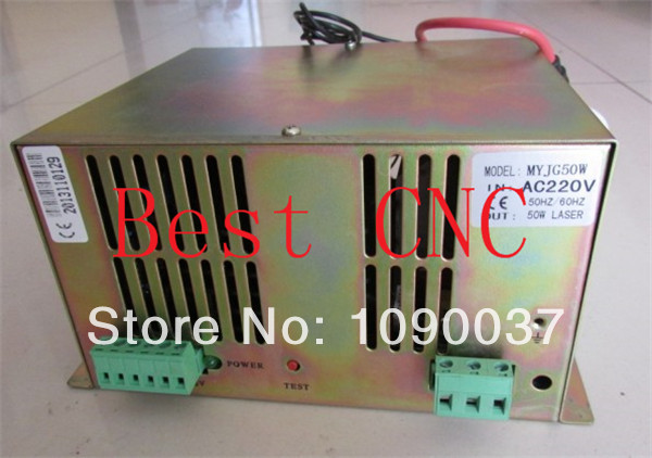 50w laser power supply for Co2 laser tube 50w Co2 laser engraving machine newest ly 4040 co2 laser engraving machine 50w laser tube laser cutting machine free tax to russia