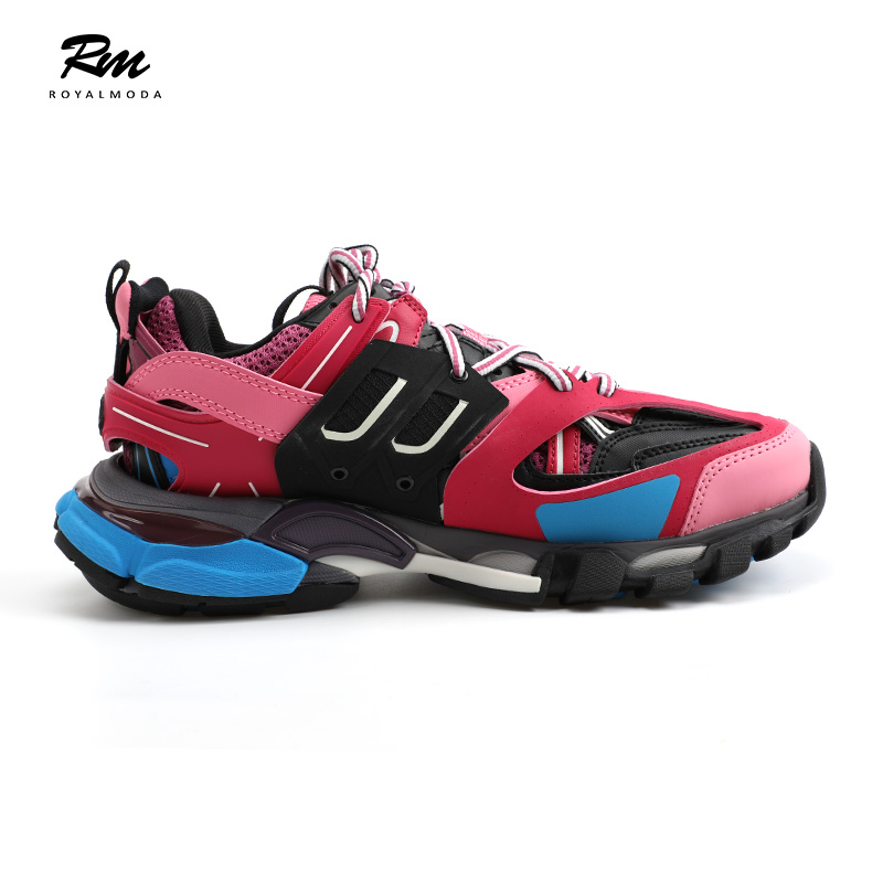 2019 new top quality BAL track sneakers leather shoes women's sneakers 39