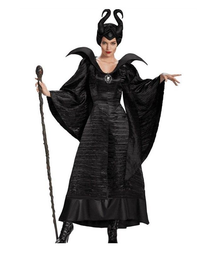 FANCY DRESS COSTUME D DELUXE DEMONIA DEMON LADY 10-12