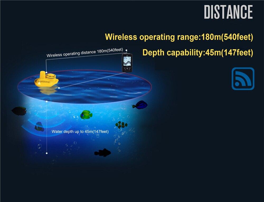 High Quality wireless sonar fish finder