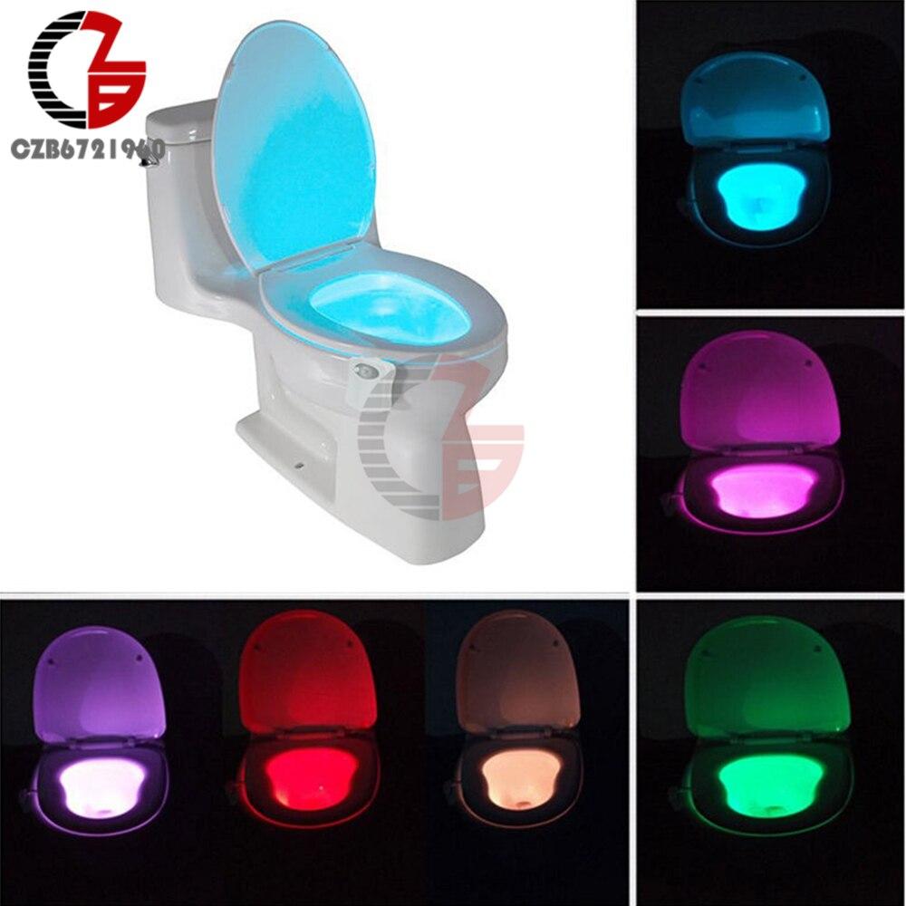 LED Light Bowl - Toilet Night Light - Glow Bowl Illumibowl - Toilet Potty Lamp  vasos sanitários coloridos