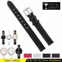 Frau Kalb Leder Uhr Band Für Calvin klein CK K3E236 K2B231 K3N231 Armband Armband Armband 12mm 14mm ersatz Mann