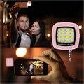 СВЕТОДИОДНЫЙ Фонарик для Камеры Телефона поддержка нескольких Селфи Синхронизации Фотографии Свет Игрушки Для IOS Android iphone 6 5 S samsung