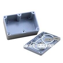 Waterproof Protable Tool Aluminium Box for Electronic 4.72*3.15*2.17Inch