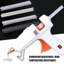 50Pcs Kunststoff Schweißen Stangen Stoßstange Reparatur ABS/PP/PVC/PE Super Schweißen Sticks Schweißen Löten Supplies für Kunststoff Schweißer