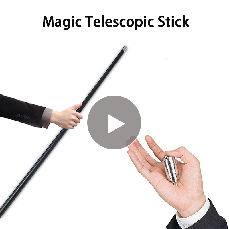 110cm/150cm Self Defense Telescopic Rod Hollow Martial Arts Metal Magic Pocket Outdoor Car Anti-wolf Steel Wand Elastic Stick