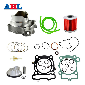 цена на Motocycle Engine Parts 77mm Air Cylinder Block Piston Rings Kit For Kawasaki KXF250 KXF 250 KX250F KX250 F 2004 2005 2006 07-08