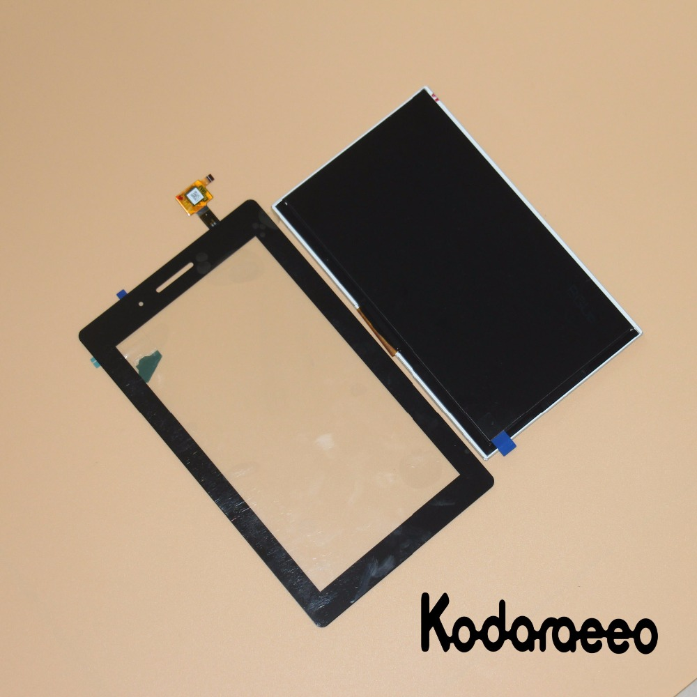 kodaraeeo For Lenovo Tab 3 7.0 710 essential tab3 TB3-710F TB3-710L/I Touch Screen Digitizer Glass+LCD Display Panel Replace 7inch lcd display with touch screen digitizer for lenovo tab 3 7 0 710 essential tab3 710 tb3 710l tb3 710i tb3 710f lcd display