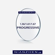 1.56 1.61 1.67 (ADD +0.75~+3.00) Progressive Multifocal Lenses Prescription Myopia Hyperopia Resistance Short Middle Far Lens