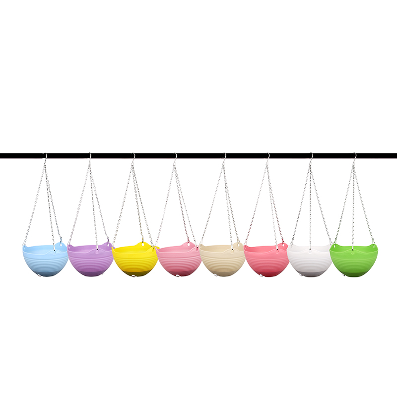 Hanging Flower Pot Chain Planter Indoor Outdoor Basket Flower Plant Holder Container...