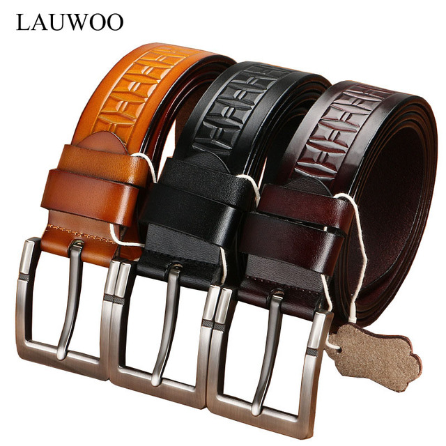 Men's Elegant High quality Geniune Leather Pin Buckle Belt. Available Colors – Black, Coffee and Brown