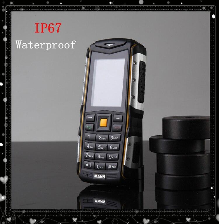 2016 MANN ZUG S IP67 Waterproof Mobile Phone 2.0 inch MANN ZUGS Dustproof Shockproof Outdoor sport phone Dual SIM card Bluetooth