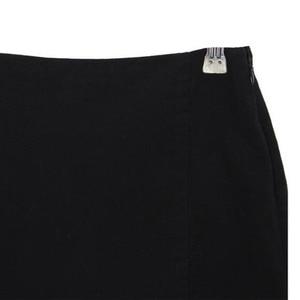 Image 5 - סקסי גבירותיי סימטרי חצאית גבוהה מותן גותי פאנק ריקוד Clubwear קצר מיני Bodycon חצאיות שחור 200 873