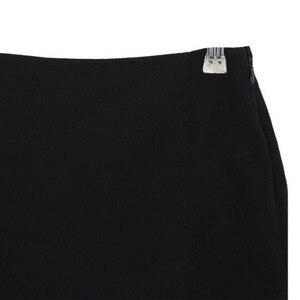 Image 5 - 섹시한 숙녀 비대칭 스커트 하이 웨스트 고딕 펑크 댄스 clubwear 짧은 미니 bodycon 스커트 블랙 200 873