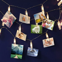 Holiday Lighting 3M 30LEDs Card Photo Wall Clip Fairy LED String Light Christmas Home DIY Decoration