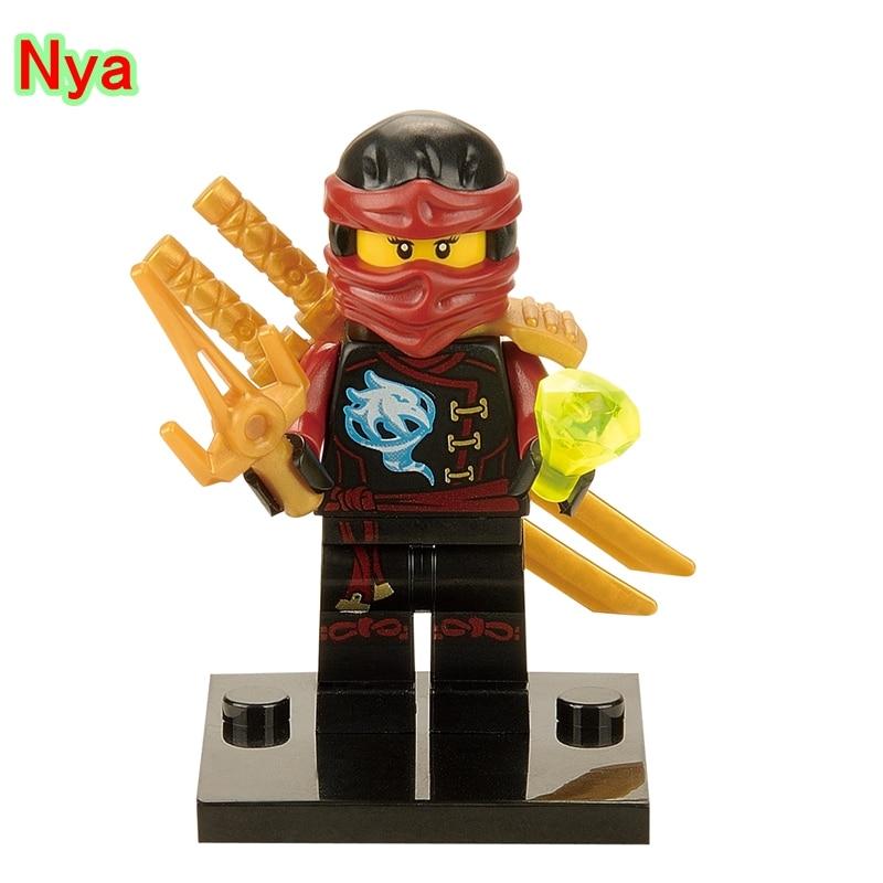 Model Building Nya Action Bricks Single Legoing Girl Ninjagoing Super Heroes Kais Sister Assemble Building Blocks For Children Toys Xh248 Ideal Gift For All Occasions Blocks