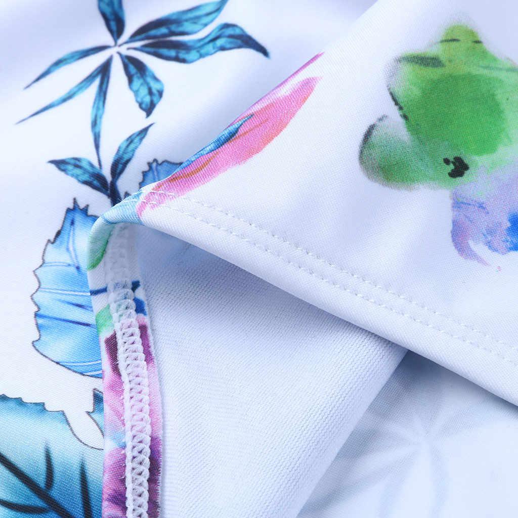الأمومة ملابس السباحة الأمومة Tankinis مجموعات النساء الأزهار طباعة البيكينيات ملابس السباحة بحر الحوامل دعوى مثير الحمل بيكيني