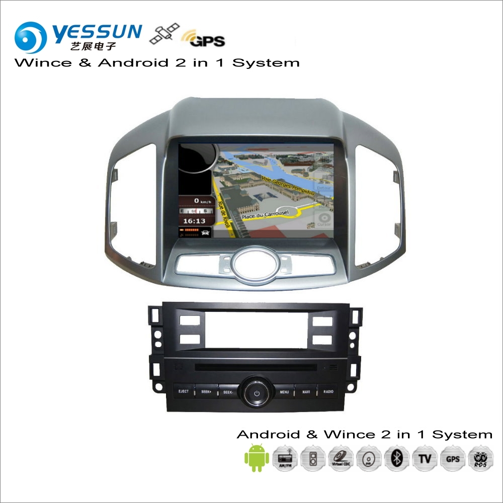 YESSUN For Chevrolet For Holden Captiva 2010~2014 Car Android Radio CD DVD Player GPS Navi Map Navigation Audio Video Stereo