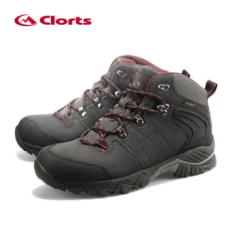 Clorts Winter Sneakers Shoes Hiking Shoes Men Waterproof Hiking Boots Mens Big Size Outdoor Shoes Mountain Man Boots HKM-822 цена