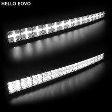 Hello eovo 7D изогнутые 32 дюймов 300 Вт с DRL светодиодный свет бар для трактора лодка Offroad 4WD 4×4 грузовик внедорожник ATV Combo луча 12 В 24 В
