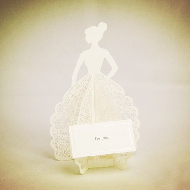 10pcs amazing white laser cut 3d pop up handmade kirigami greeting 10pcs amazing white laser cut 3d pop up handmade kirigami greeting cards as bridal dress happy m4hsunfo