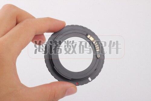 M42-EF Electronic AF Confirm M42 Mount Lens Adapter for EF 5D 7D 60D 50D 40D 500D 550D 600D Rebel T2i T3i 1100D