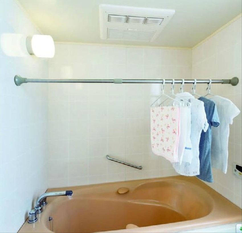Free shower curtain rod telescopic drilling rods