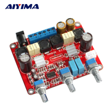 Aiyima TPA3123 Subwoofer amplifier board 2.1 channel TL074 +TPA3123 digital amplifier board 2*25W +50W