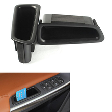все цены на Car Door Side Handle Armrest Storage Box Container Holder Tray Organizer Accessories Car-Styling For VOLVO XC60 2014-2017 онлайн