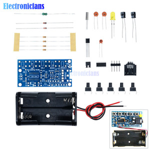 Image 1 - 76MHz 108MHz Wireless Stereo FM Radio Kit Audio Receiver PCB FM Module Kits Learning Electronics For Diy 1.8 3.6VDC