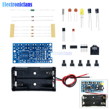 76MHz-108MHz Wireless Stereo FM Radio Kit Audio Receiver PCB FM Module Kits Learning Electr