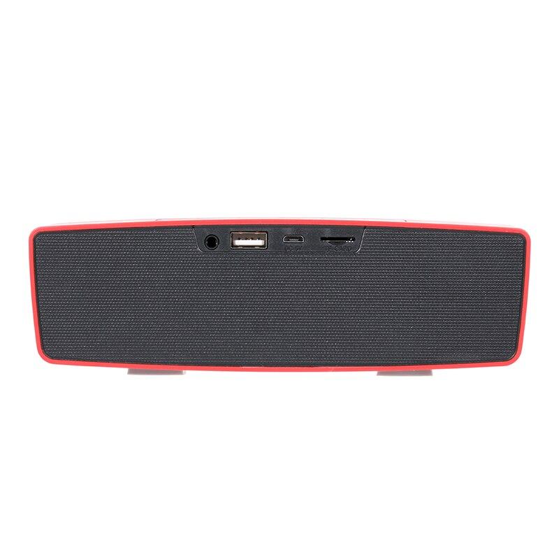 Объемный звук Портативный Bluetooth Динамик kr-9700a Беспроводной стерео Колонки Soundbox громкий Динамик Поддержка карты памяти для телефона pc