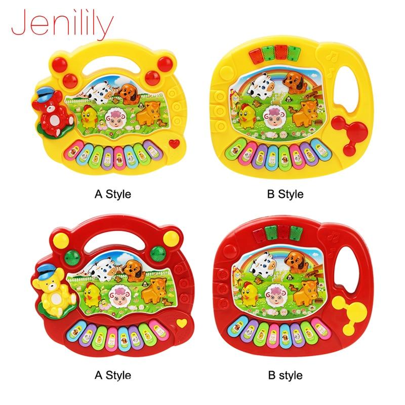 Baby Kids Musical Educational Animal Farm Piano Developmental Music Toy Gift LY