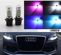2x No Errors Xenon White P13W 5730 LED Bulbs DRL For 2008 12 Audi B8 Model