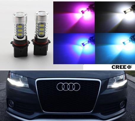 GuangDian car accessories 2x White P13W 5730 LED Bulbs DRL lamp For  Audi B8 model A4 or S4 2008-12 with headlight trims доска для объявлений dz 1 2 j8b [6 ] jndx 8 s b