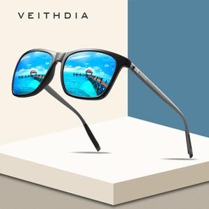 VEITHDIA Brand Unisex Retro Aluminum+TR9