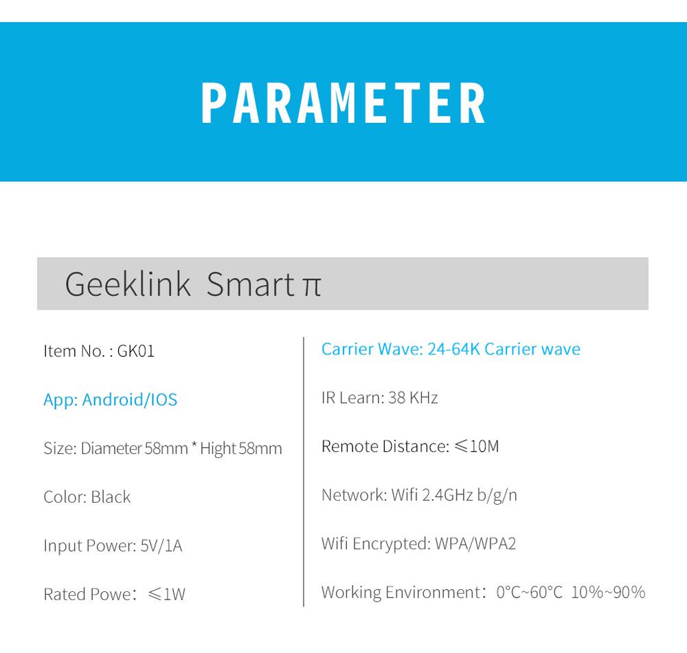 Geeklink Smart Home WiFi + IR + 4G 7