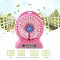 YFW Ventilador Ventilador de la fuente de Alimentación Móvil 2200 mAh Recargable 18650 Portátil banco de la energía de Escritorio de Verano Más Fresco con 3 Velocidades y USB Cable