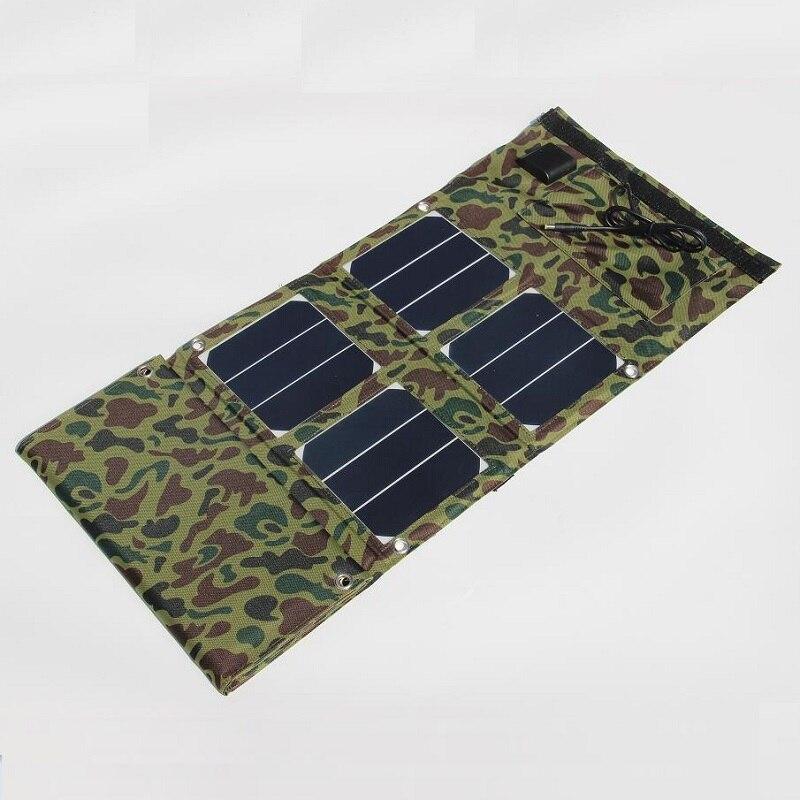 Горячая Portable 40 Вт Солнечное Зарядное Устройство/Мобильный Телефон Зарядное Устройство Power Bank <font><b>USB</b></font> 5 В + DC18V Двойной Выход для 12 В Зарядное Устрой&#8230;
