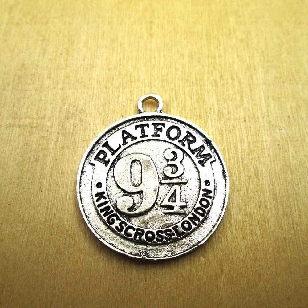 5 cái-38x34 mét 9 3/4 nền tảng Quyến Rũ, DIY vòng cổ/vòng đeo tay quyến rũ antique bạc tone