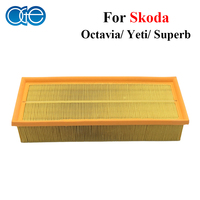 Car Engine Air Filters For Skoda Octavia Yeti Superb Auto Parts Accessories 1K0129620D 1KD126620B High Quality