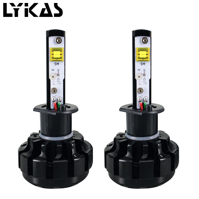 Super Bright H7 H11 H3 H1 9012 10000LM Led Car Headlight Bulb Kit Automobiles Led Headlights Canbus With Cree Led Chip 6000K 80W