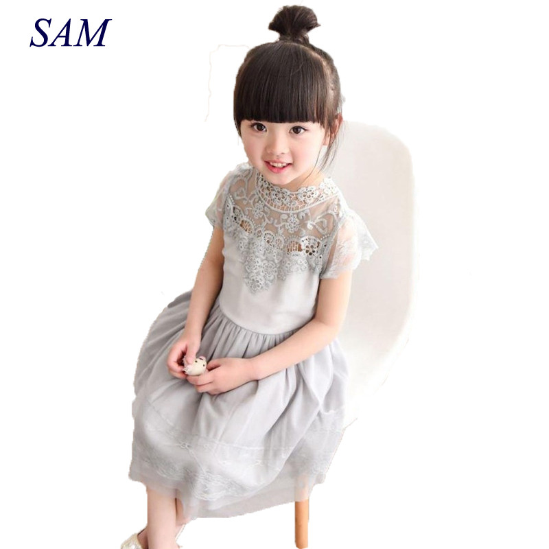 Baby Girls Dress 2018 Summer Vintage Ruffles Sleeve Clothes Princess Girl Party/birthday Costumes Dress for Girls 2pcs ruffles newborn baby clothes 2017 summer princess girls floral dress tops baby bloomers shorts bottom outfits sunsuit 0 24m