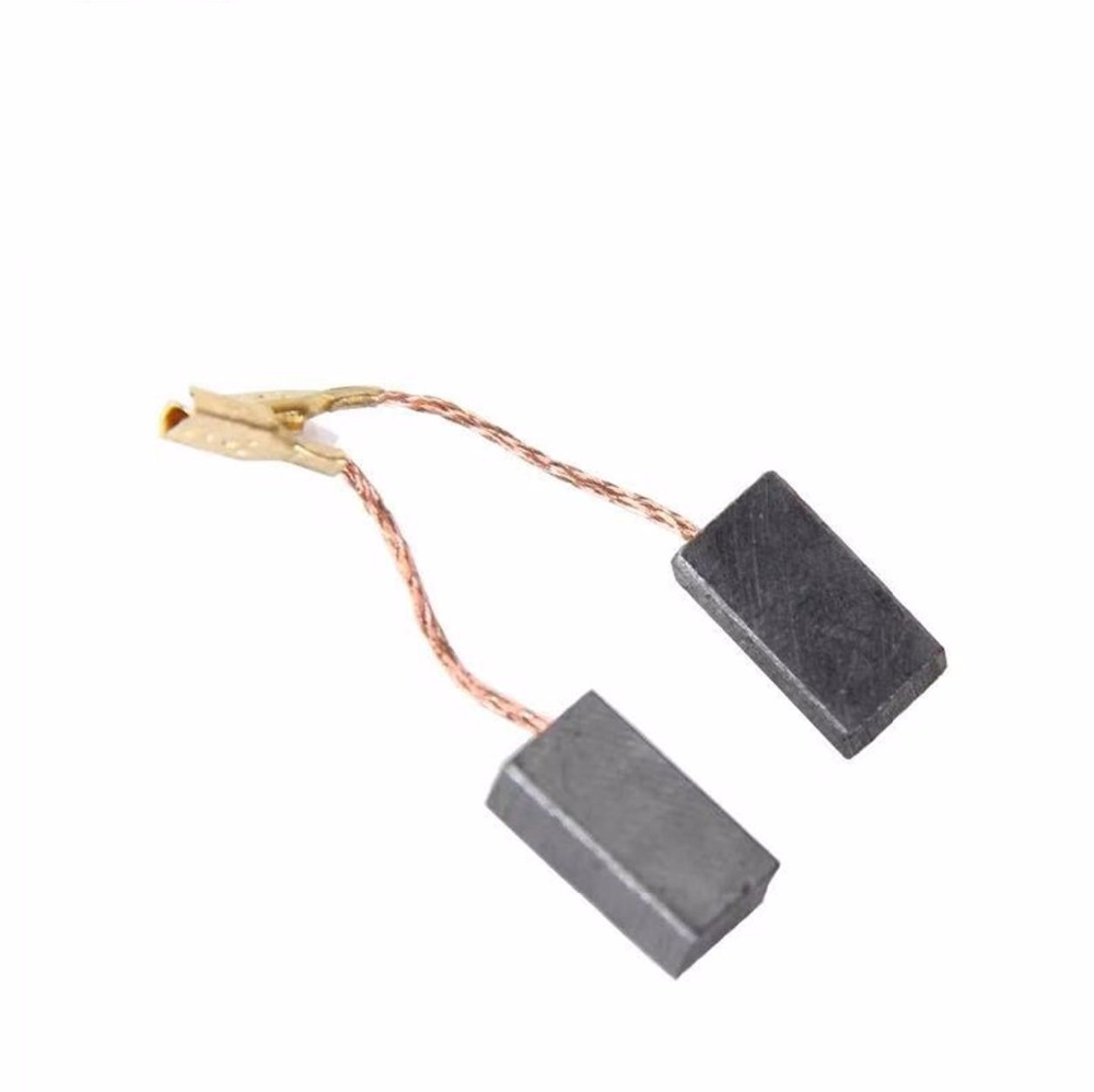 1 Pair (2pcs) GWS 6/8 Carbon Brush With Cutoff Replacement For BOSCH GWS6 GWS8 GWS 6 GWS8 100 125 Small Angle Grinder Spare Part