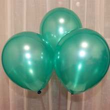 green balloon love 100pcs/lot 1.5g latex pearl ballons decoration anniversaire balloons party supplier wedding